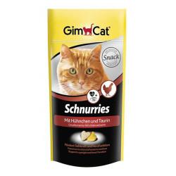 Gimcat - Gimcat Schnurries Tavuklu Kedi Ödül Tableti 40 Gr