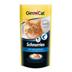 Gimcat - Gimcat Schnurries Somonlu Kedi Ödül Tableti 40 Gr
