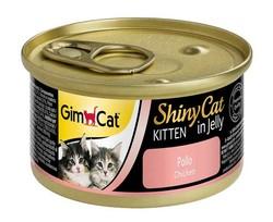 Gimcat ShinyCat Tavuklu Yavru Kedi Konservesi 70 GR - Thumbnail