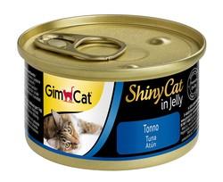 Gimcat - GimCat Shinycat Tuna Balıklı Kedi Konservesi 70 GR