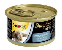 Gimcat - GimCat Shinycat Tuna Ve Karidesli Kedi Konservesi 70 GR
