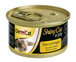 Gimcat - GimCat Shinycat Tuna Ve Peynirli Kedi Konservesi 70 GR