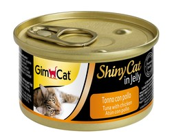 Gimcat - GimCat Shinycat Tuna Ve Tavuklu Kedi Konservesi 70 GR