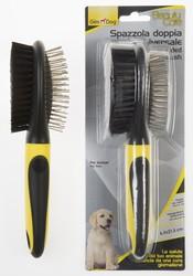 Gimdog - Gimdog Aks Çift Taraflı Köpek Fırçası 57508