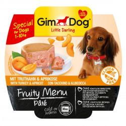 Gimdog - Gimdog Hindi Ve Kayısı Ezme Köpek Konservesi 100 Gr