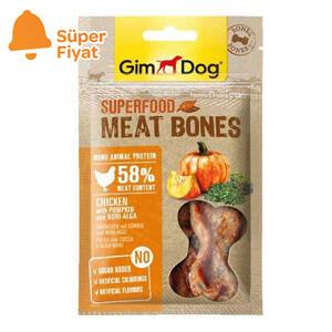 Gimdog Meat Bones Kabaklı ve Nori Yosunlu Tavuk Köpek Ödülü 70 gr - Thumbnail