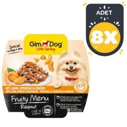 Gimdog - Gimdog Kuzu Ve Kayısı Ezme Köpek Konservesi 100 GR * 8 Adet