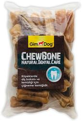 Gimdog - GimDog Naturel Mordimi Press Kemik 5cm 25li