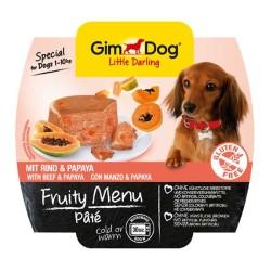 Gimdog - Gimdog Sığır Etli Ve Papayalı Ezme Köpek Konservesi 100 Gr