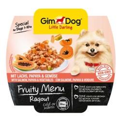 Gimdog - Gimdog Somon Ve Papayalı Ezme Köpek Konservesi 100 Gr