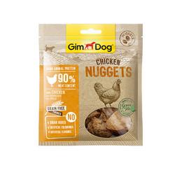 Gimdog - GimDog Tahılsız Tavuklu Nuggets Köpek Ödülü 55 gr