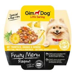 Gimdog - Gimdog Tuna Balıklı Ve Ananaslı Ezme Köpek Konservesi 100 Gr