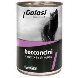 Golosi - Golosi Ördek ve Av Hayvanlı Kedi Konservesi 400 GR