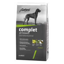 Golosi - Golosi Sığır-Balık-Tavuk Bütün Irklara Özel Köpek Maması 12 KG