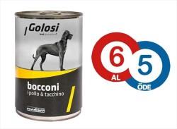 Golosi - Golosi Tavuk ve Hindili Köpek Konservesi 400 GR * 6 Adet