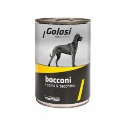 Golosi - Golosi Tavuk ve Hindili Köpek Konservesi 400 GR