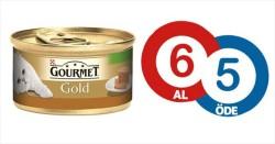 Gourmet - Gourmet Gold Parça Etli Alabalık Sebze Kedi Konservesi 85 GR (6 AL 5 ÖDE)