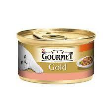 Gourmet - Gourmet Gold Parça Etli Alabalık Sebze Kedi Konservesi 85 GR