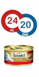 Gourmet - Gourmet Gold Sığır Eti ve Tavuklu Kedi Konservesi* 24 ADET