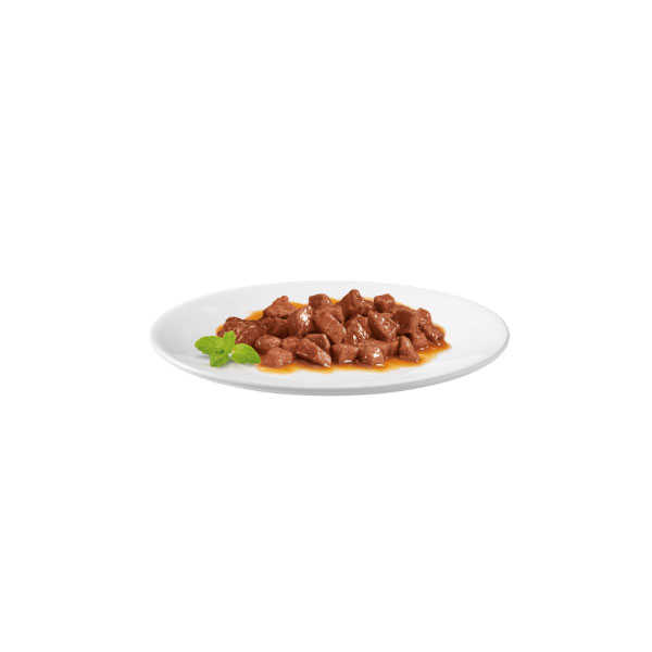 Gourmet Gold Parça Sığır Etli Kedi Konserve 85 GR * 24 ADET