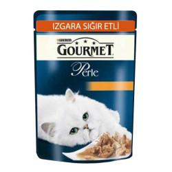 Gourmet - Gourmet Perle Izgara Sığır Etli Kedi Konservesi 85 GR