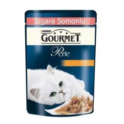 Gourmet - Gourmet Perle Izgara Somonlu Kedi Konserve Maması 85GR