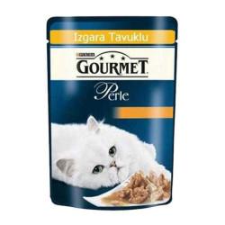Gourmet - Gourmet Perle Izgara Tavuklu Kedi Konserve 85GR