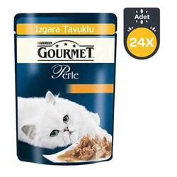 Gourmet - Gourmet Perle Izgara Tavuklu Kedi Konserve 85GR x 24 Adet