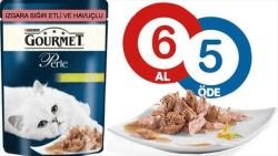 Gourmet - Gourmet Perle Sığır Etli Havuçlu Kedi Konserve 85 GR (6 AL 5 ÖDE)