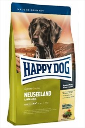 Happy Dog - Happy Dog Neuseeland Kuzulu Pirinçli Köpek Maması 12.5 KG