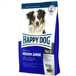 Happy Dog - Happy Dog Tavuk, Somon ve Yumurta Yavru Köpek Maması 10 KG