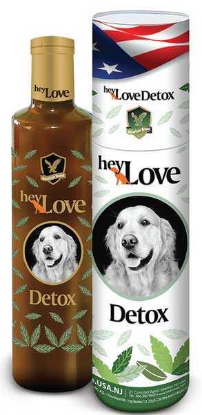 HeyLove Detox Köpek Besin Takviyesi 480 ML