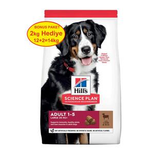 Hill's Büyük Irk Kuzulu Köpek Maması 12+2 KG - Thumbnail
