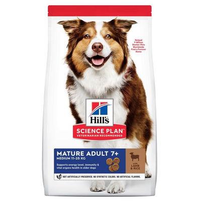 Hills Kuzu Etli Yaşlı Köpek Maması 14 KG