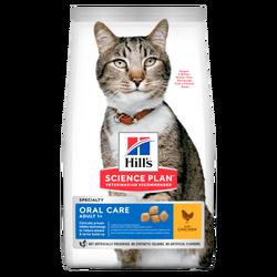 Hills - Hills Oral Care Tavuk Etli Ağız Bakımı Yetişkin Kedi Maması 1.5 KG