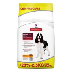 Hills - Hills Orta Irk Tavuklu Köpek Maması 12 KG + 2,5 KG Bonus