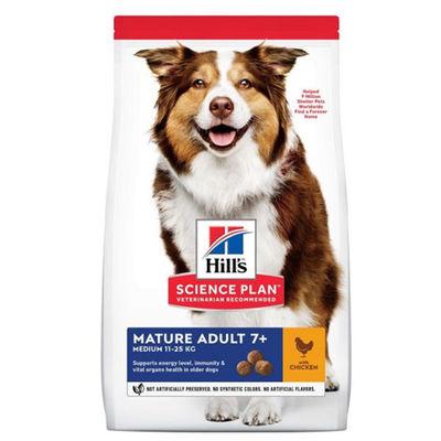 Hills Orta Irk Yaşlı Köpek Maması 14 KG