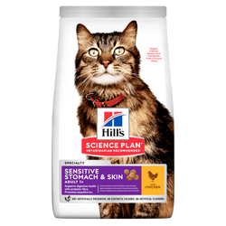 Hills - Hills Science Plan Sensitive Skin Kedi Maması 1,5 KG