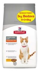 Hills - Hills Science Plan Kısırlaştırılmış Kedi Maması 5 KG + 3 KG HEDİYELİ