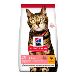 Hills Science Plan Light Tavuklu Kedi Maması 1,5 KG - Thumbnail