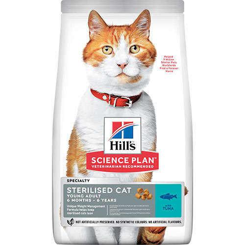 Hills Science Plan Tuna Balıklı Kısırlaştırılmış Kedi Maması 15 KG