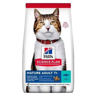 Hills Tuna Balıklı Yaşlı Kedi Maması 1.5 KG