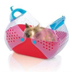 İmac - İmac Baggy Piknik Sepeti Şeklinde Kedi Taşıma Çantası