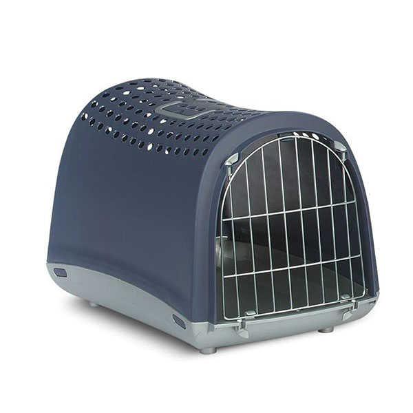 İmac Linus Üstü Kapalı Kedi Taşıma Kafesi 50X32X34.5 Cm