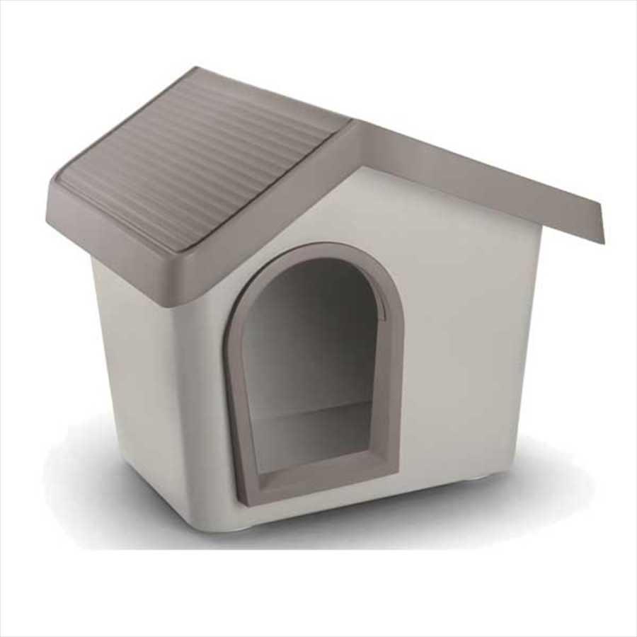İmac Zeus Sert Plastik Köpek Kulübesi 50 - GRİ