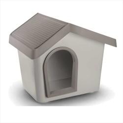 İmac Zeus Sert Plastik Köpek Kulübesi 50 - GRİ - Thumbnail