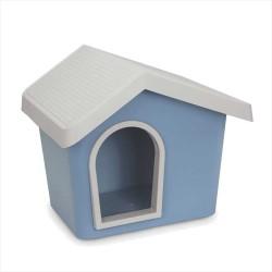 İmac - İmac Zeus Sert Plastik Köpek Kulübesi 50 - Mavi + İmac Minder HEDİYELİ