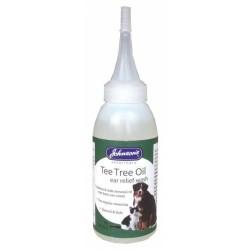 EcoPure - Johnsons Tea Tree Oil Kulak Temizleme Solusyonu 85 ml