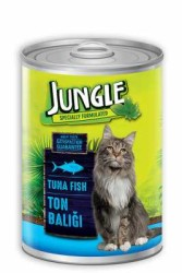 Jungle - Jungle Ton Balıklı Kedi Konservesi 415 GR