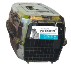 Pet Carrier - Kedi Köpek Taşıma Çantası Kamuflaj Desenli 58*40*26,5 Max 11 KG